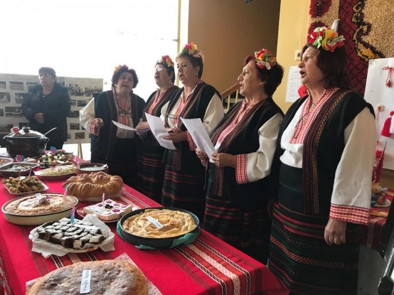 Село Вировско отбеляза началото на пролетта с кулинарен конкурс. Инициативата
