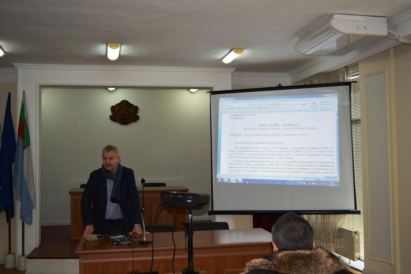 Кметът на Монтана Златко Живков представи на публично обсъждане основните