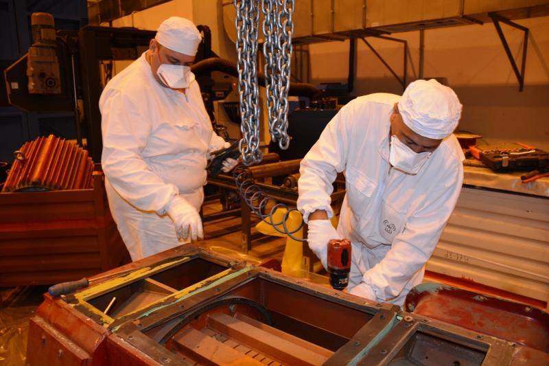 """ДП """"Радиоактивни отпадъци"""" продължава реализацията на програмата по извеждане от експлоатация /снимки/"""
