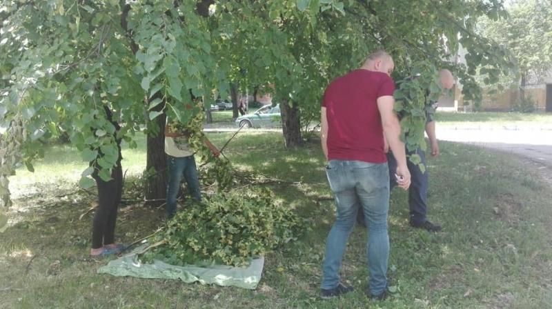 """При проверка на Инспектората в района на ул. """"Ген. Леонов"""","""