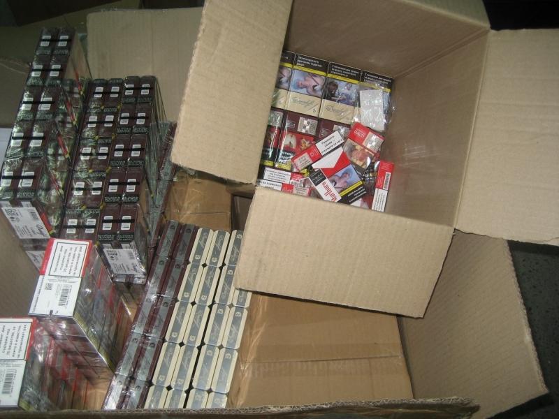 155 640 къса /7782 кутии/ цигари иззеха митнически служители от