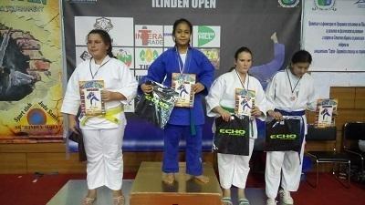 """Джудо клуб """"Олимпия"""" /Козлодуй/ взе 5 медала от """"Илинден Оупън"""""""