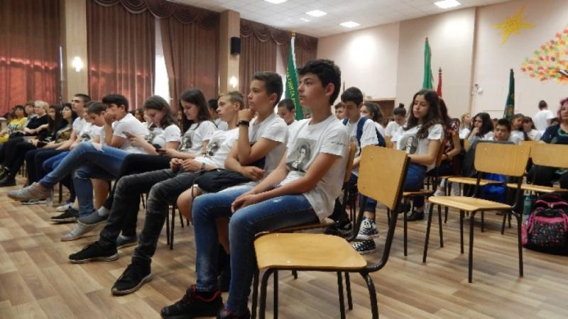 """Деветата регионална среща на клубовете """"Млади възрожденци"""" се проведе във"""