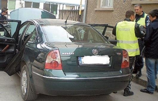Снимка: Полицията спипа нередовен шофьор за пореден път