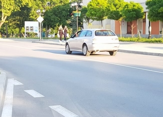 Пропадна прясно ремонтираната главна улица на Козлодуй, научи агенция BulNews.
