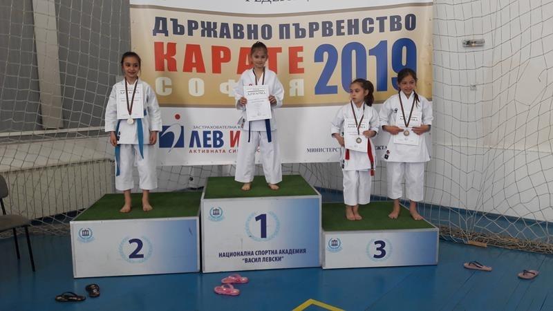 "Сияна Тихолова донесе два медала за КК ""Компас""/Монтана/"