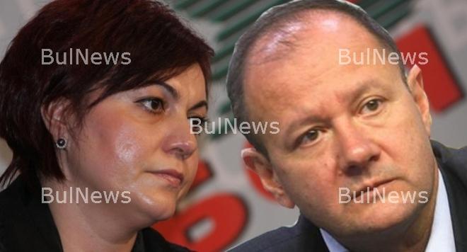 Миков и Нинова спорят за лидерското място в БСП