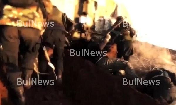"""Боец на """"Ислямска държава"""" засне смъртта си /видео/"""
