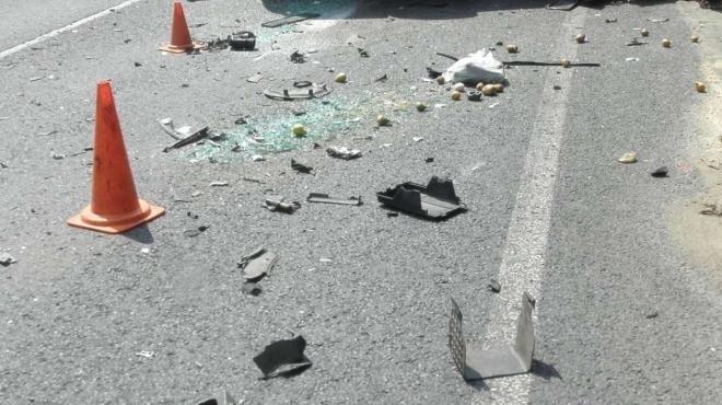 Лек автомобил е самокатастрофирал, съобщиха от полицията във Враца. На