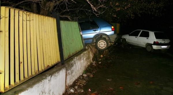 Пиян мъж е катастрофирал в монтанското село Трайково, съобщиха от
