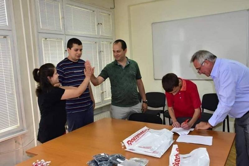 Кметът Калин Каменов подписа договор за предоставяне на новите социални