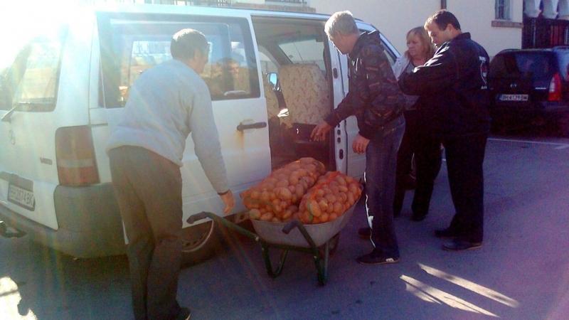 Видинската митрополия получи дарения от чуждестранни сдружения