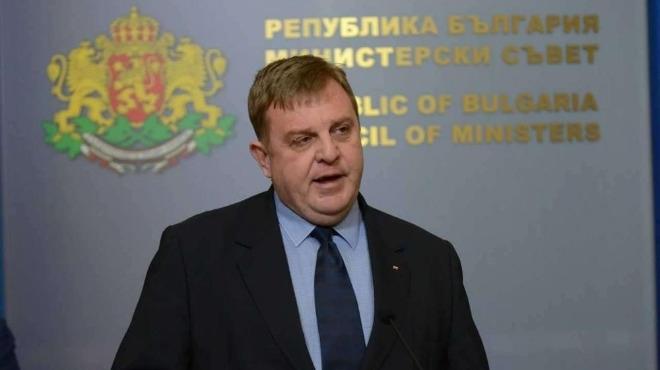 Лидерът на ВМРО Красимир Каракачанов обяви, че ако концепцията му