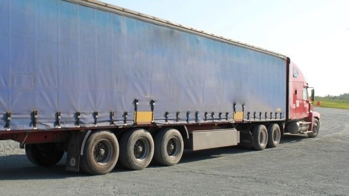 Камионът на пловдивски тираджия, спрял във Видинско заради празничното ограничение