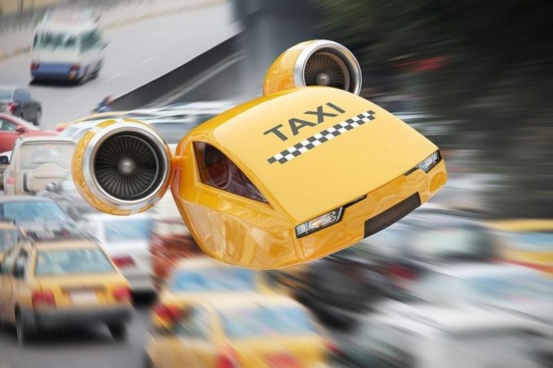 """""""Летящите таксита"""" ще започнат да излитат от летище северно от"""