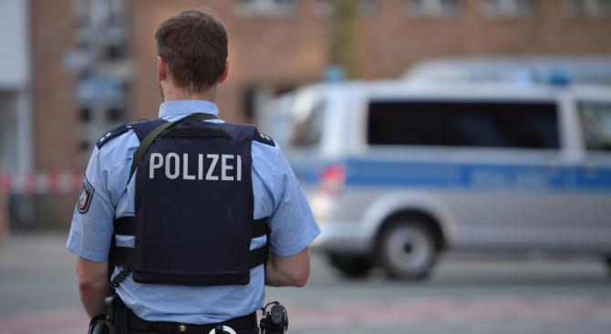 Германската полиция съобщи днес, че германските власти разследват случай на