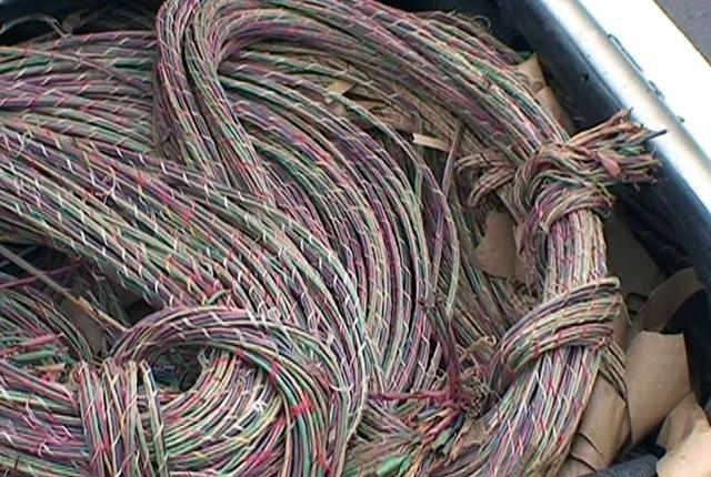Снимка: Задигнаха 340 метра кабели в Оряхово