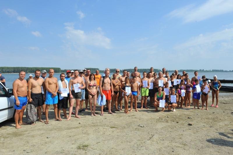 Снимка: Проведе се традиционното преплуване на река Дунав при Козлодуй /снимки/