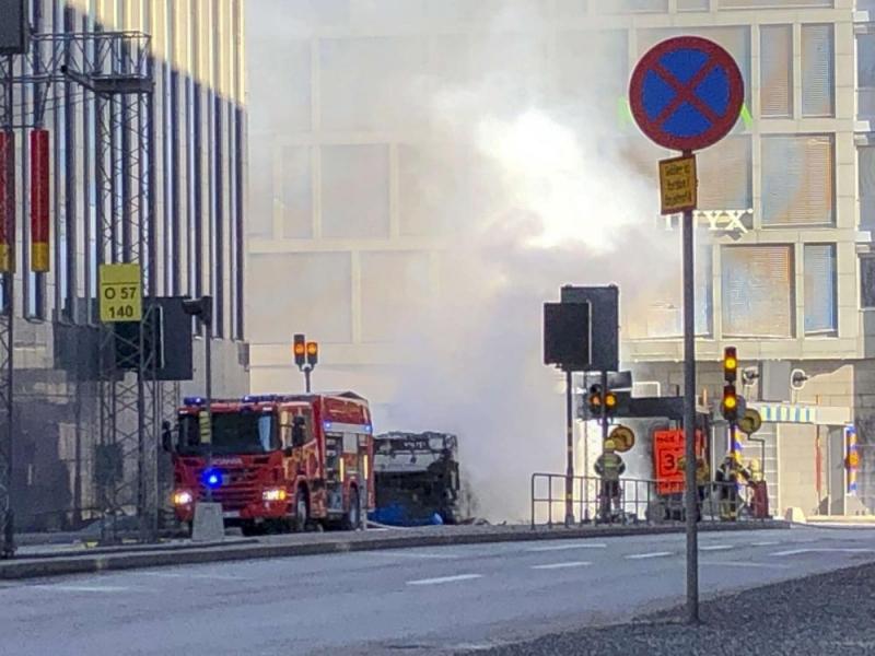 Мощна експлозия разтърси центъра на Стокхолм, съобщава 9news.com. По първоначална