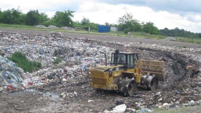 """Дружеството """"Екопроект"""", което управлява депото за твърди битови отпадъци между"""