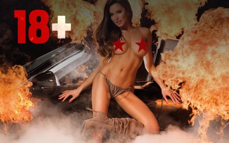 Снимка: Голи момичета и спортни коли - новият секси календар /снимки/