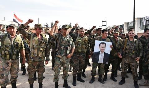Сирийската армия достигна Турция