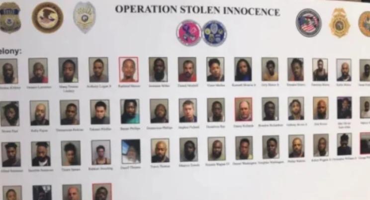 Отвратително! 170 арестувани в САЩ за разврат и сексуална експлоатация на 13-годишна