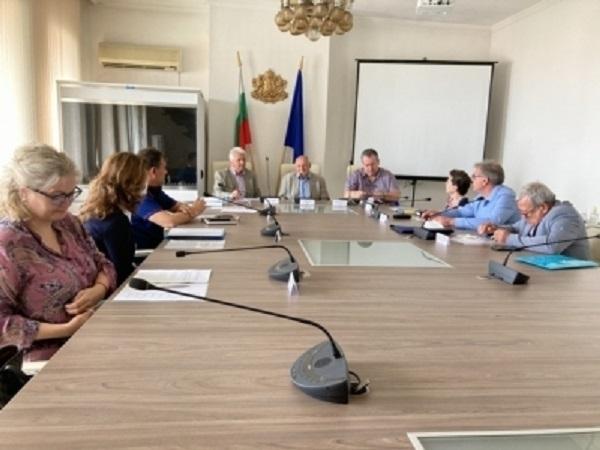 Заседание на временната областна преброителна комисия се проведе днес в