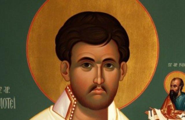 Днес Православната църква отдава почита си съм Свети апостол Тимотей,