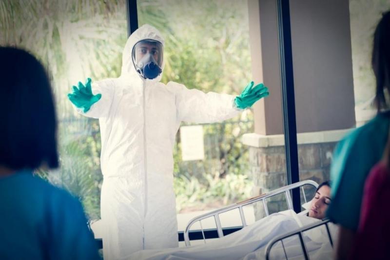 Новата инфекциозна болница с 1000 легла, построена за 10 дни