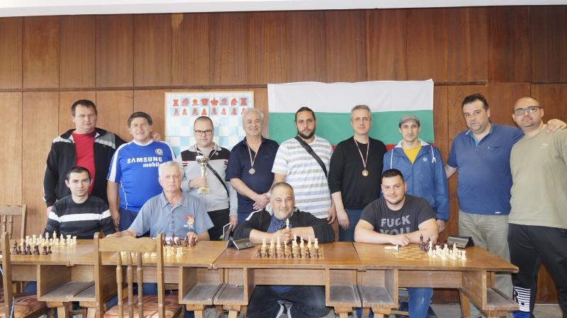 Цветослав Тончев стана победител в Градското индивидуално първенство (ГИП) по