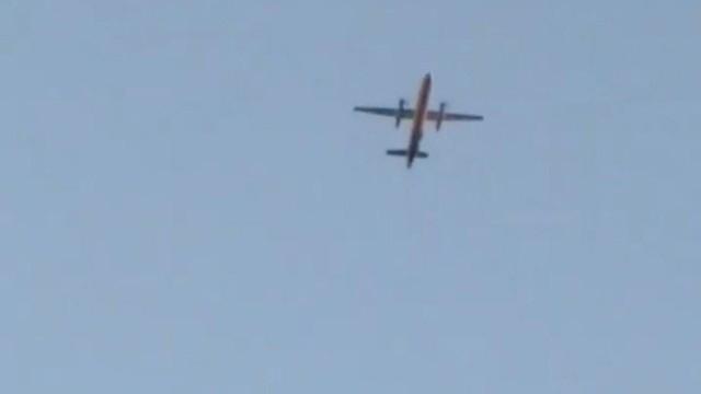 Самолетът, който беше отвлечен от международното летище Сиатъл-Такома, се е