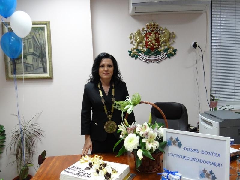 Десислава Тодорова положи клетва и официално встъпи в длъжност за трети път като кмет на Борован /снимки/