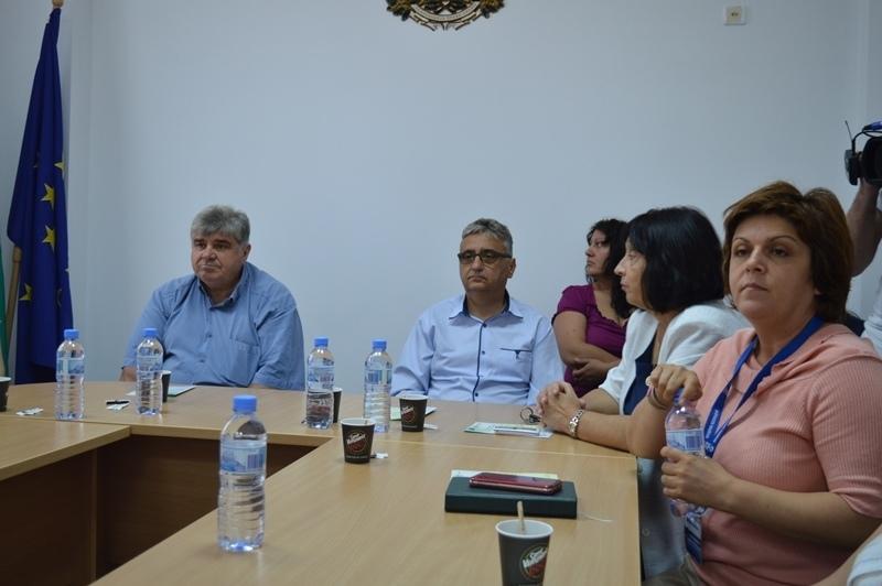 Днес в община Козлодуй се проведе закриваща пресконференция по проект
