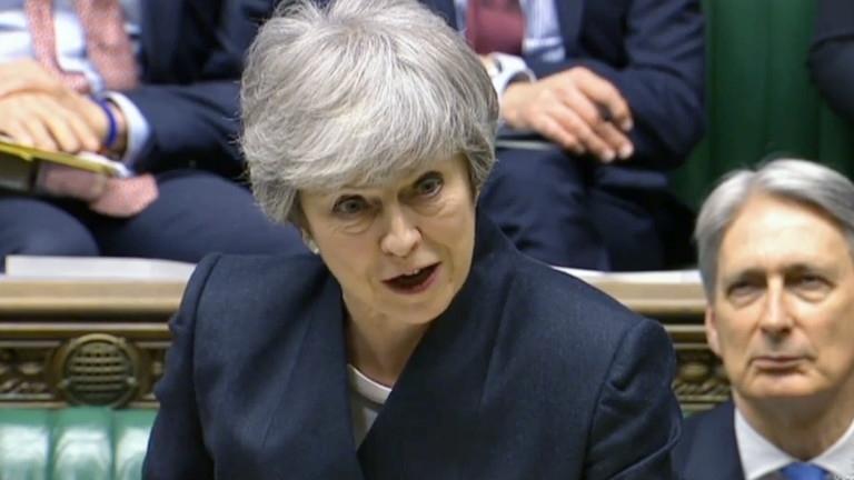 Британският премиер ТерезаМей ще даде краен срок на лейбъристите впреговорите