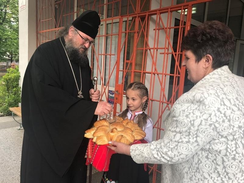 Врачанският митрополит Григорий бе гост в часа по религия на