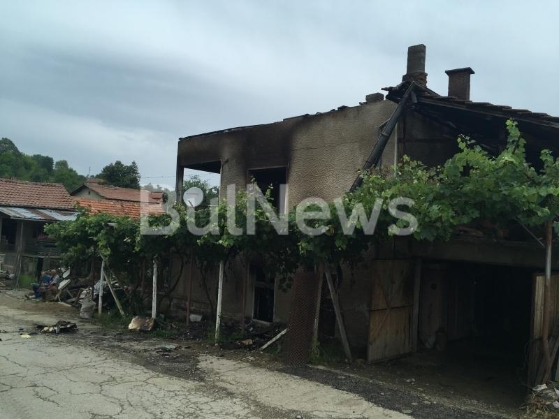 МВР: Никола Джорошки, чийто дом изгоря в Люти дол, е криминално проявен и осъждан