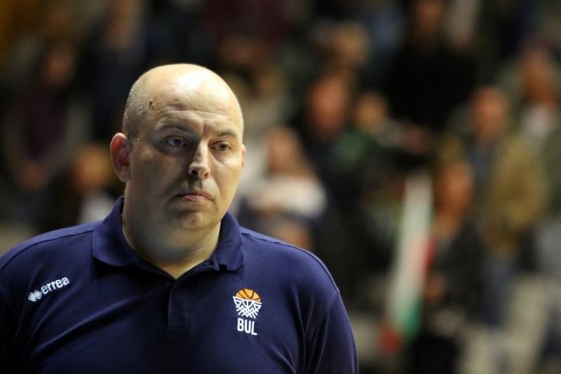 """Старши треньорът на """"Монтана"""" Стефан Михайловкоментираотказването на """"Хасково""""от женското първенство."""