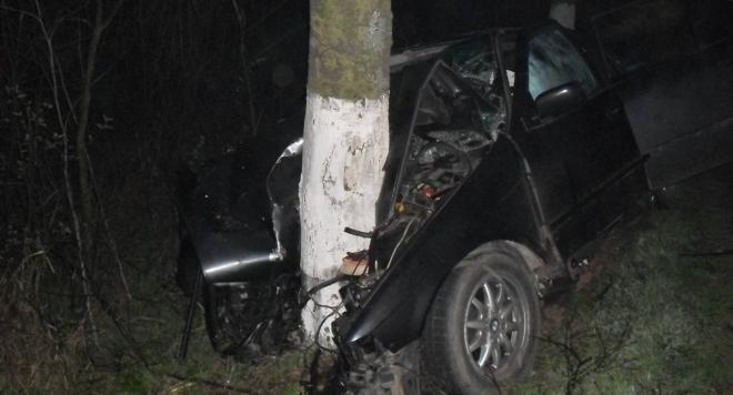 Пиян джигит изхвърча от пътя и се заби в дърво край Монтана