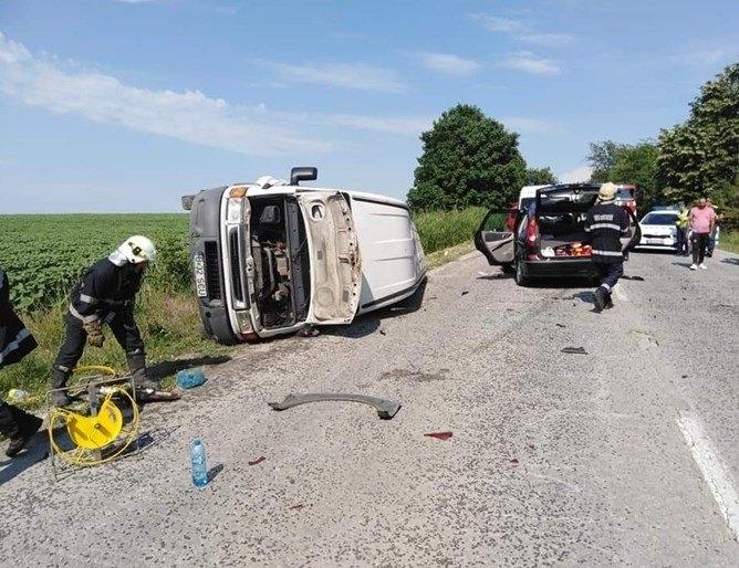Софиянец е предизвикал катастрофа на международния път Е-79 във Видинско,
