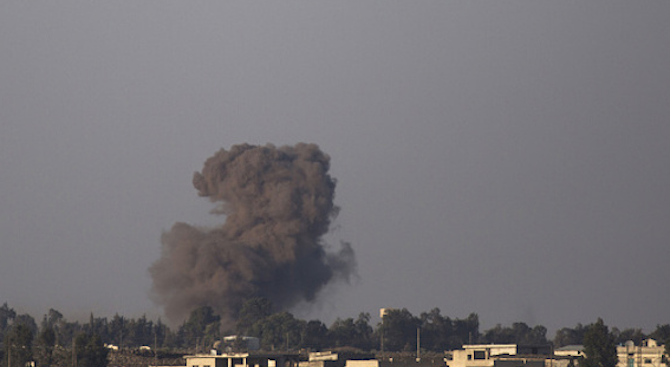 Въздушният ударв Северен Йемен, който се твърди, че е нанесен