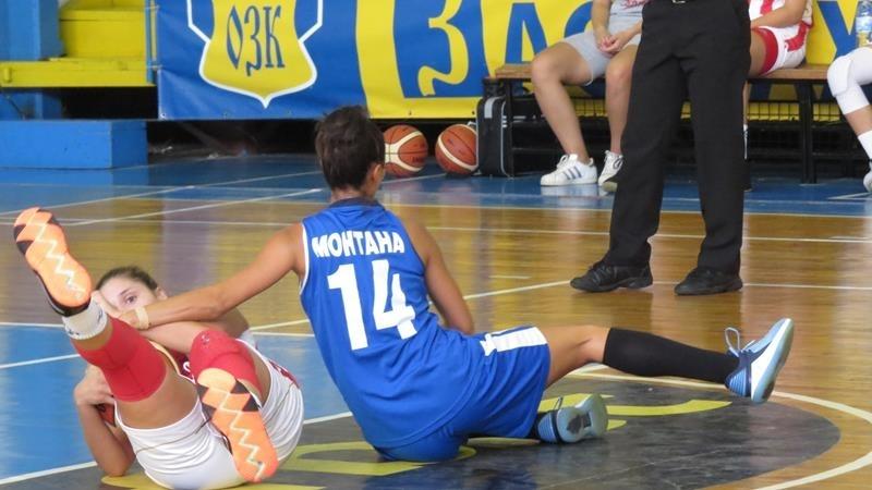 """Баскетболистките на """"Монтана"""" с тежка загуба в Словения"""