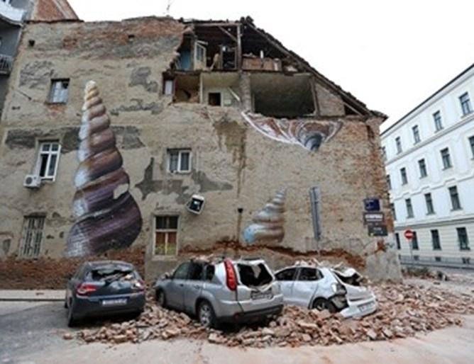 ЕК отпуска 88.9 млн. евро на Хърватия заради земетресението през март