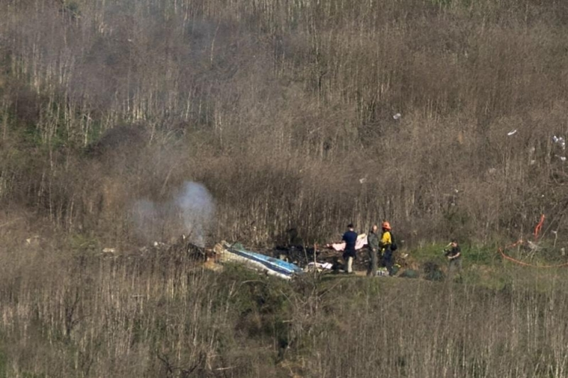 Деветте жертви на катастрофата с хеликоптер, при която загинаха баскетболистът