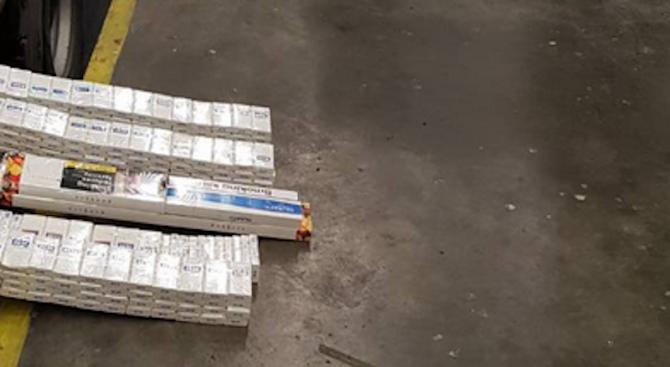 74 800 къса /3740 кутии/ контрабандни цигари задържаха митническите служители