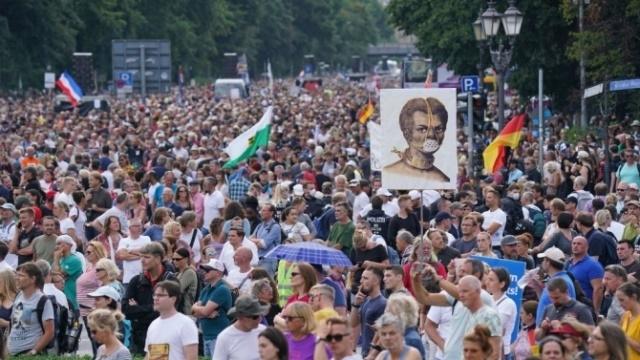 Германският Върховен съд отказа да разреши протест на противници на