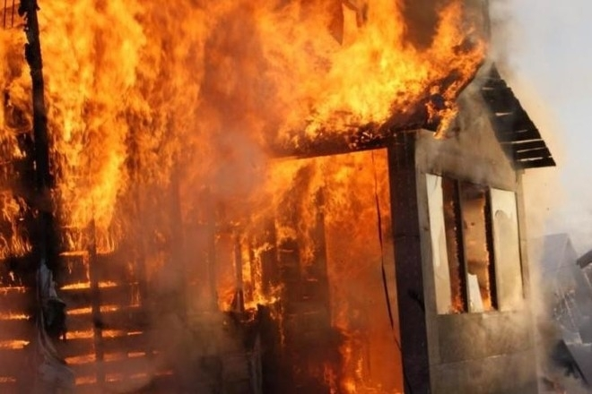 Снимка: Мъж загина при пожар в Габровско