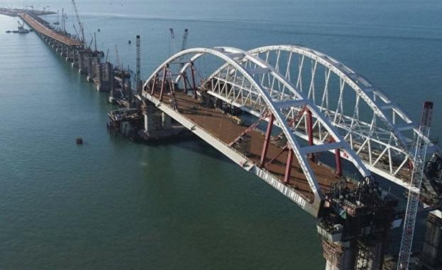Кримският мост е почти готов и през май ще бъде