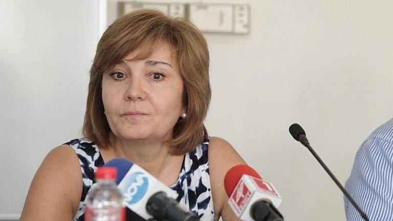 Шефката на НАП Галя Димитрова, която в разгара на скандала