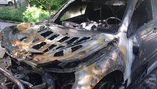Джип е бил подпален във Видинско през уикенда, съобщиха от